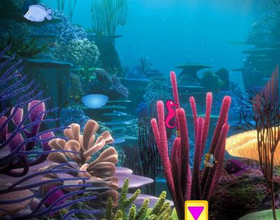 KnfGame Underwater Dolphin Escape Walkthrough