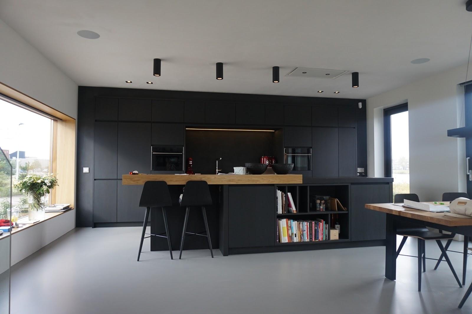 Landelijk Keuken Gietvloer : Zwarte keuken gietvloer u informatie over de keuken