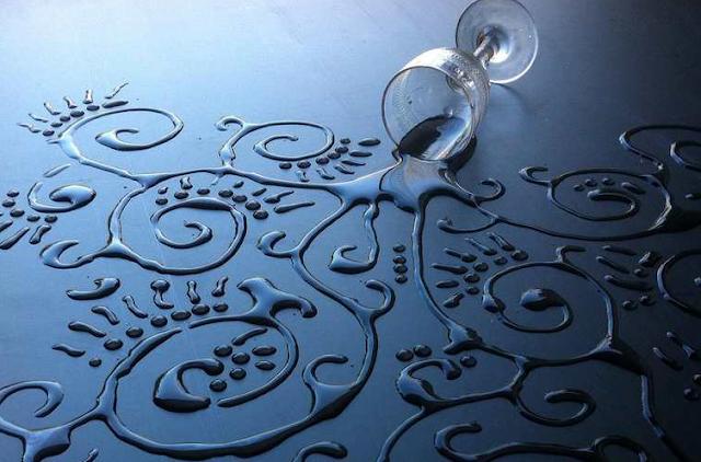 Karya Seni Menggunakan Air Yang Membuat Kamu Melongo Melihatnya