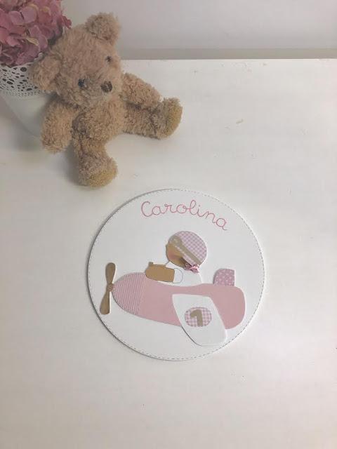 placa-puerta-decoración-infantil-personalizada-aviadora rosa
