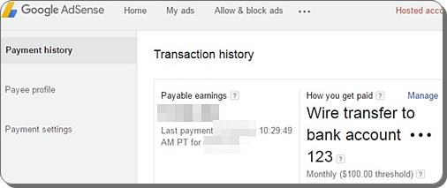 cara setting pembayaran google adsense melalui wire transfer, cara daftar wire transfer, sistem pembayaran adsense, cara menerima pembayaran google adsense