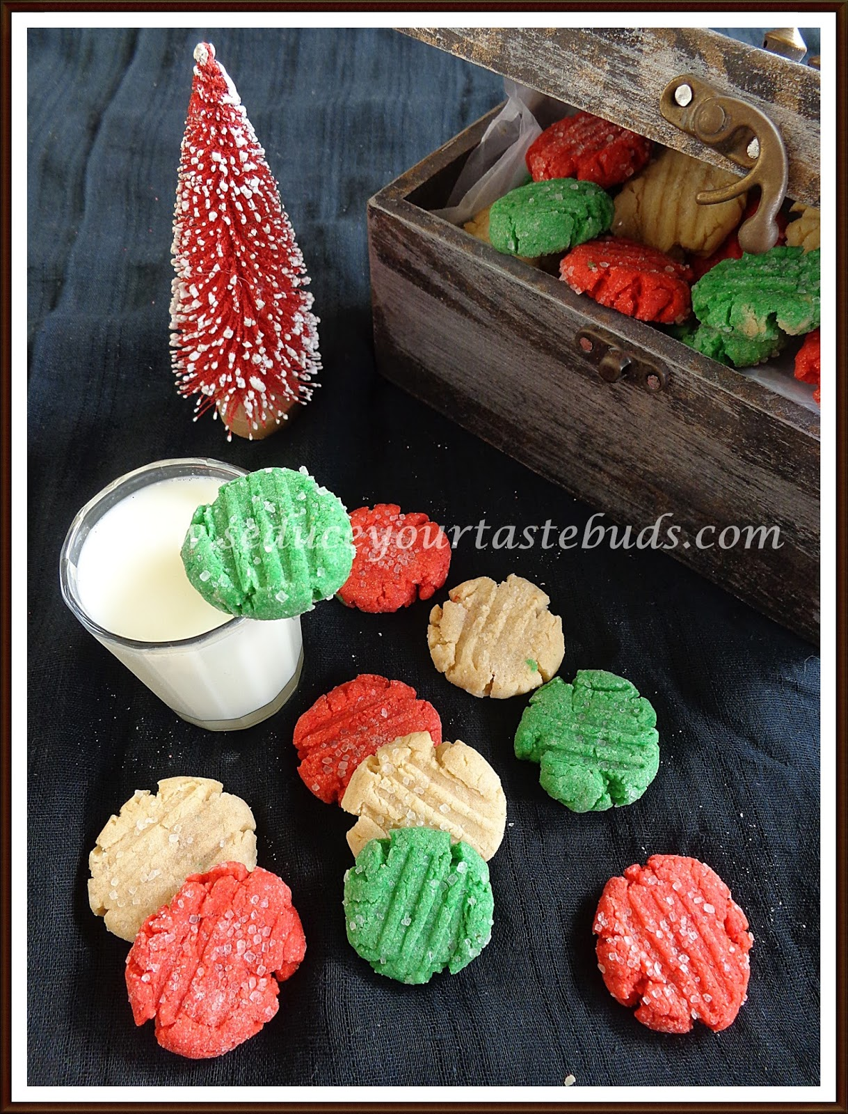 Eggless Colorful Christmas Cookies Easy Holiday Bakes Seduce