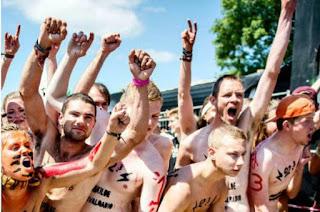 Roskilde Naked Run, Denmark