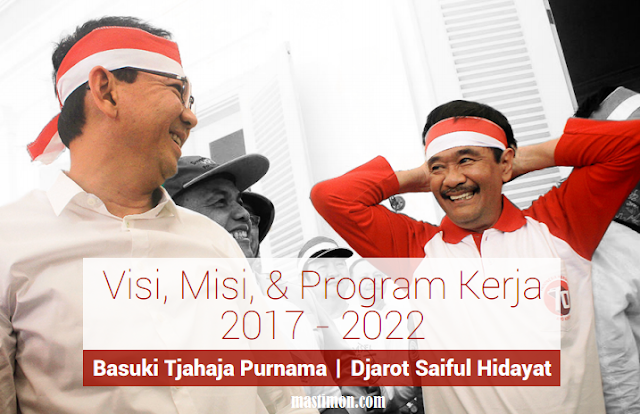 Program Kerja Ahok-Djarot memimpin Jakarta periode 2017-2022