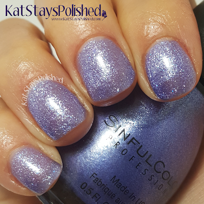 SinfulColors - A Class Act - Ice Blue | Kat Stays Polished