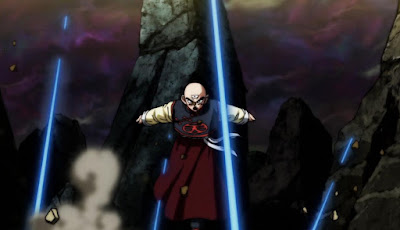 """Dragon Ball Super"" Episodio 106 - ¡Averigüenlo! ¡Duelo a muerte contra un atacante invisible!"