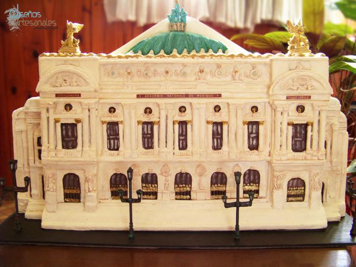 ópera de parís, cuadro en tres dimensiones