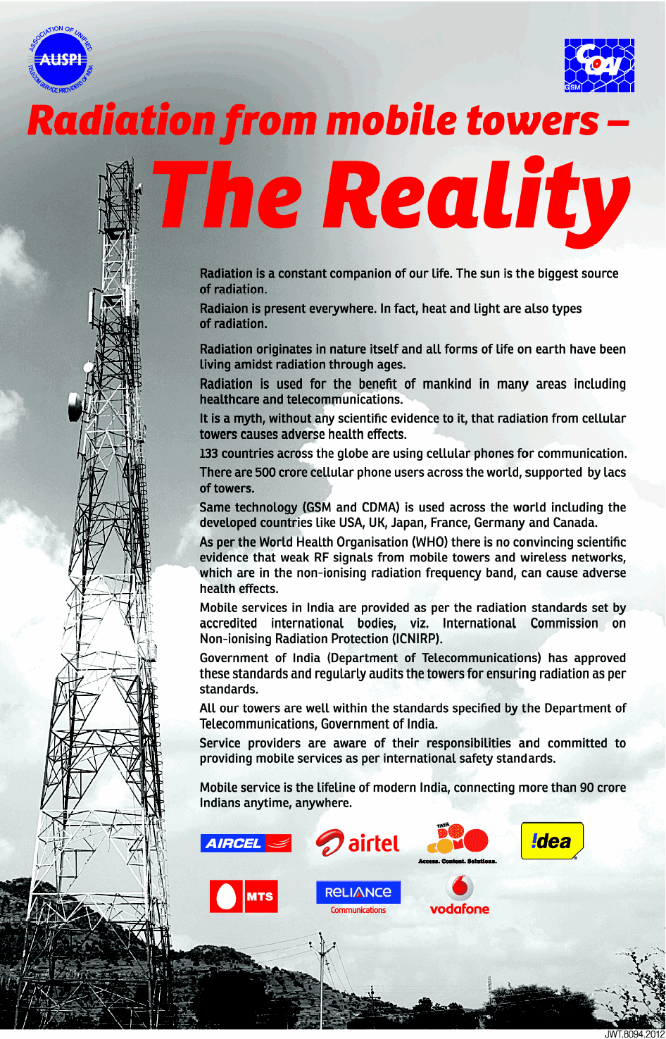 Twenty22-India on the move: Mobile tower radiation