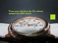 Spiegelung: Ostan Damen Uhren Mode Weiß Leder Runde Zifferblatt mit Zirkonia Armkette Armband Armbanduhr Uhr