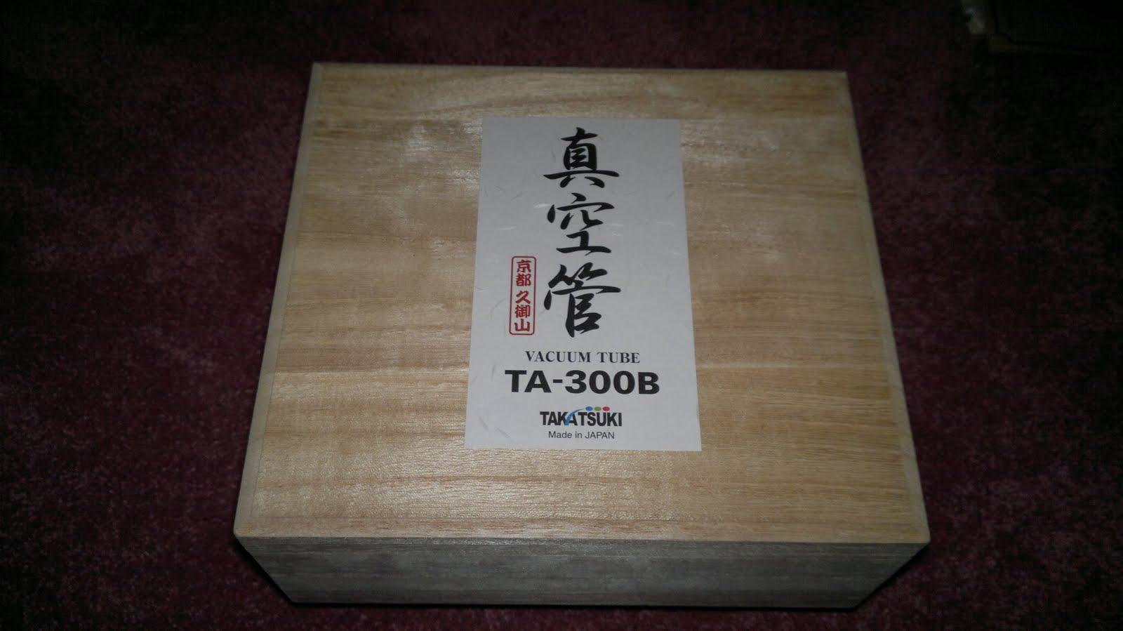 HEADS UP - coming very soon - Takatsuki TA- 300B !! | MUSIC