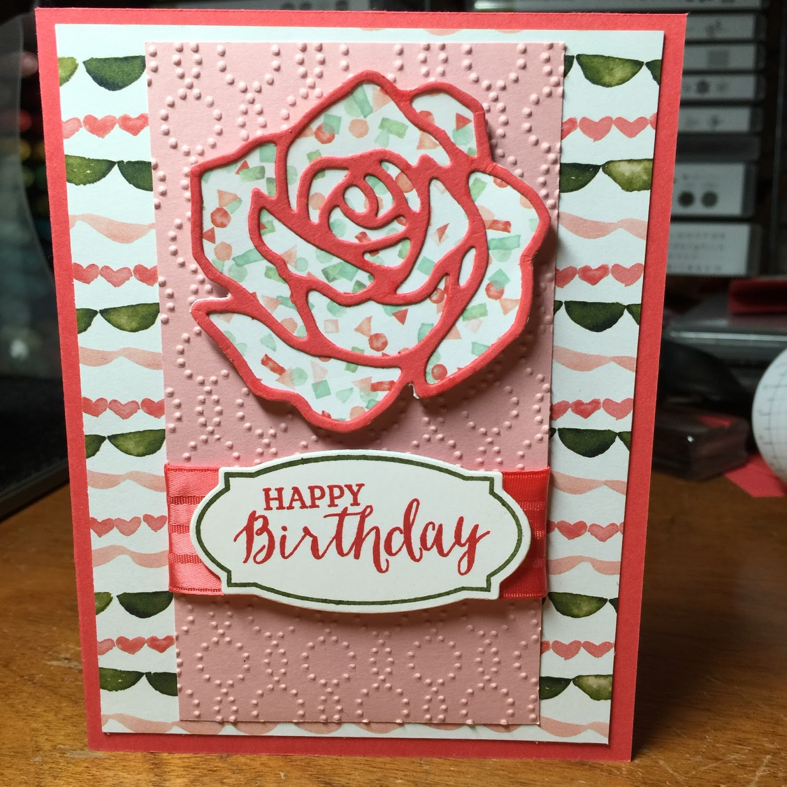 Rose Garden Creations: Kristin's Cards And Creations: Rose Garden