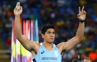 Braian Toledo avanzó esta noche a la final de la competencia olímpica de Lanzamiento de Jabalina de Río de Janeiro 2016.