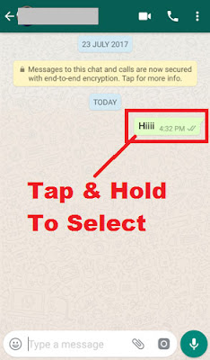 how to delete whatsapp message already sent