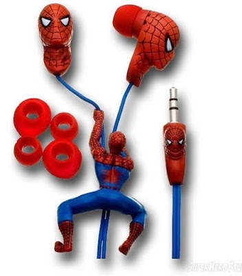 Spiderman Sculptured Earphones