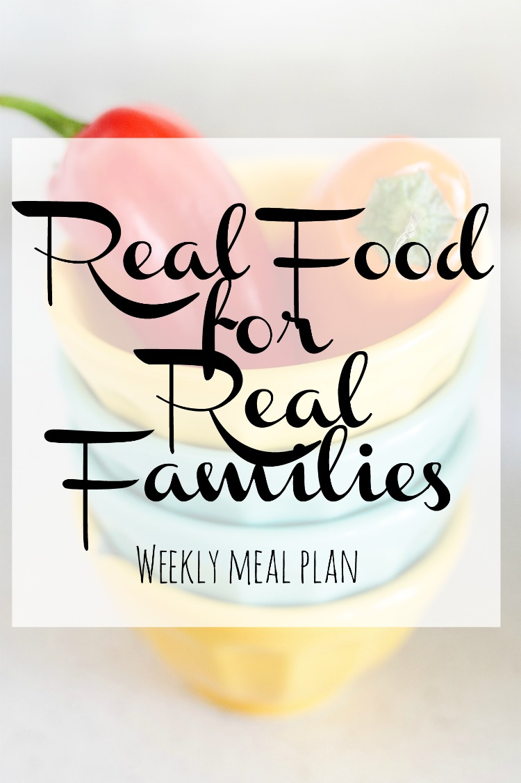 Easy Weekly Family Meal Plan