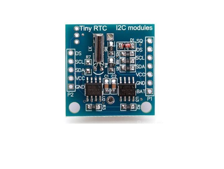 ESP8266 01 + Clock Tiny RTC ds1307 + Memory Eeprom 24c32