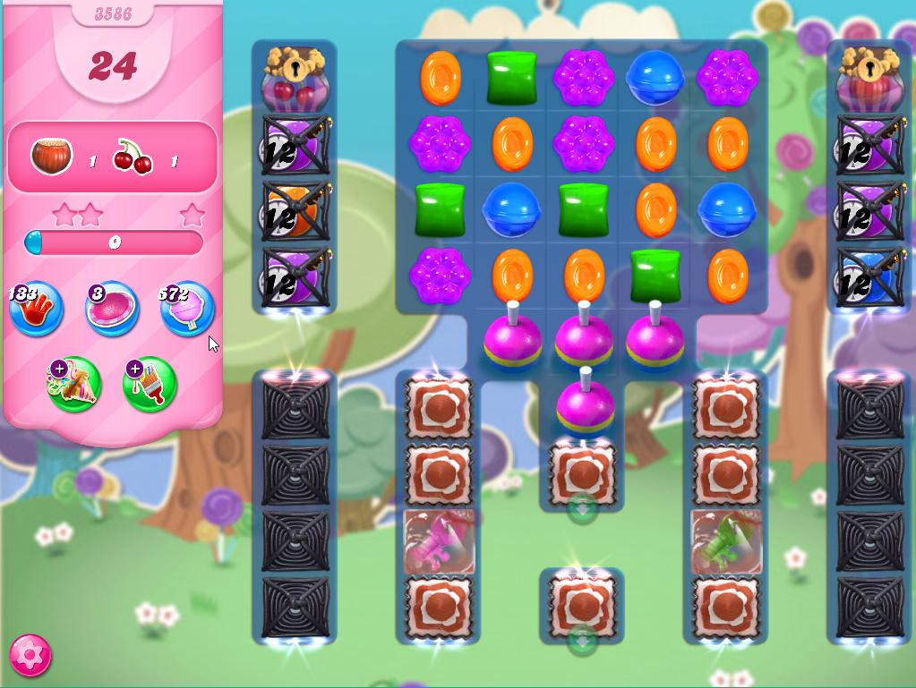 Candy Crush Saga level 3586
