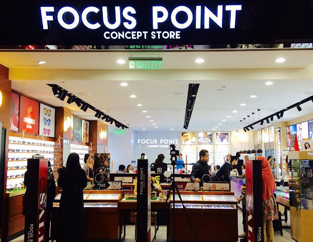 kedai cermin mata, kedai cermin mata murah, Focus Point, Focus Point Concept Store, Focus Point second outlet, Melawati Mall