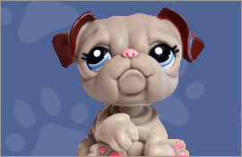 LPS Bulldog Figures