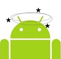 Android Hanging Logo