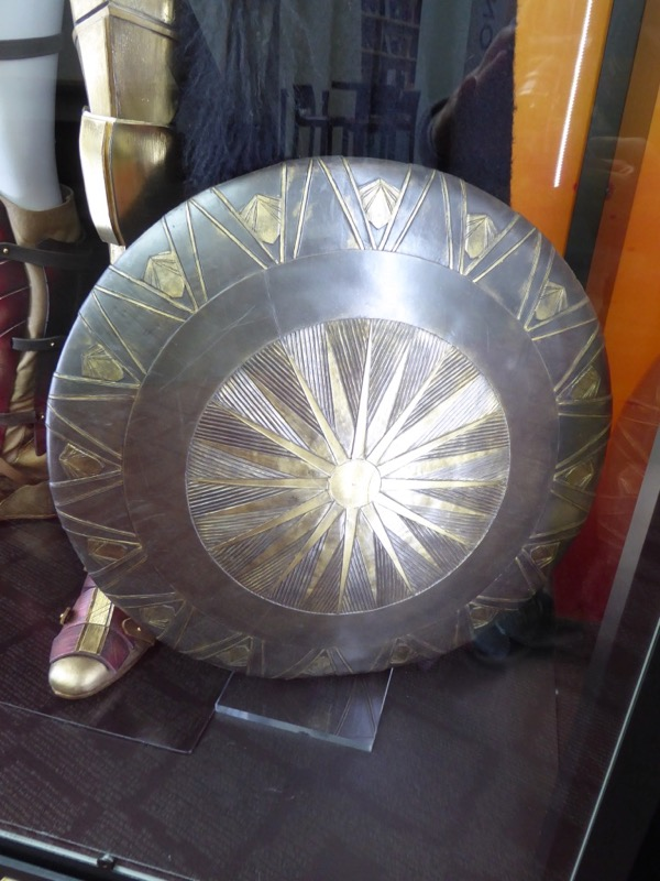 Wonder Woman shield movie prop