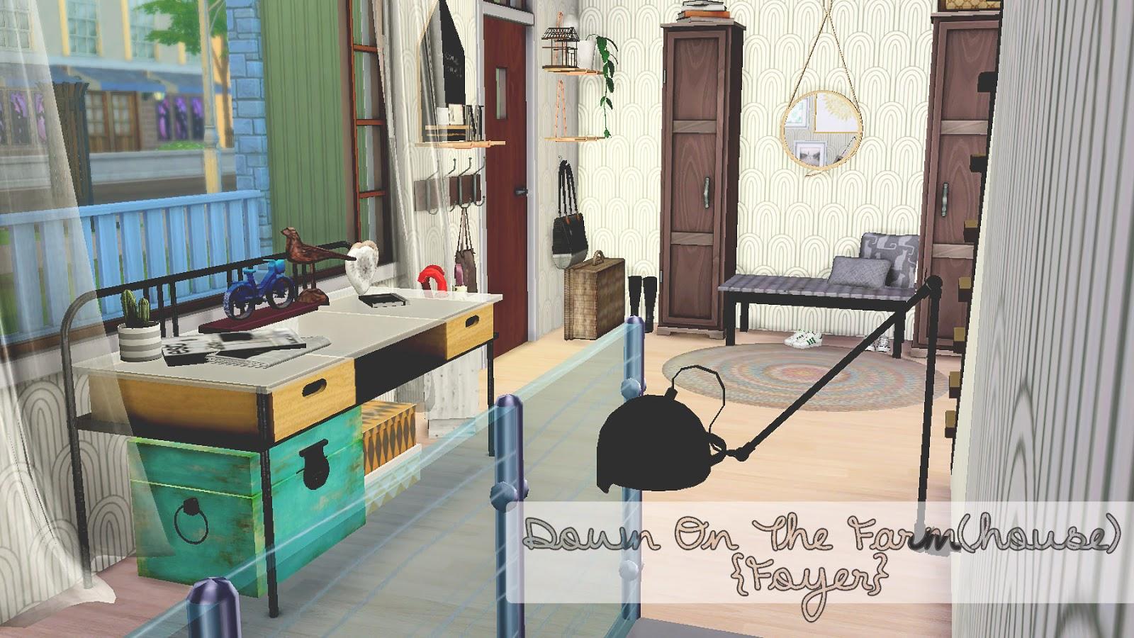Sims Foyer Ideas : Hippiesimsdesign down on the farm house foyer sims
