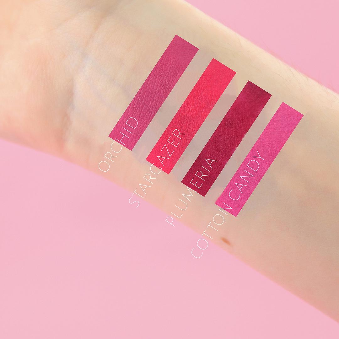 anastasia-beverly-hills-pink-matte-lipstick-set-swatch