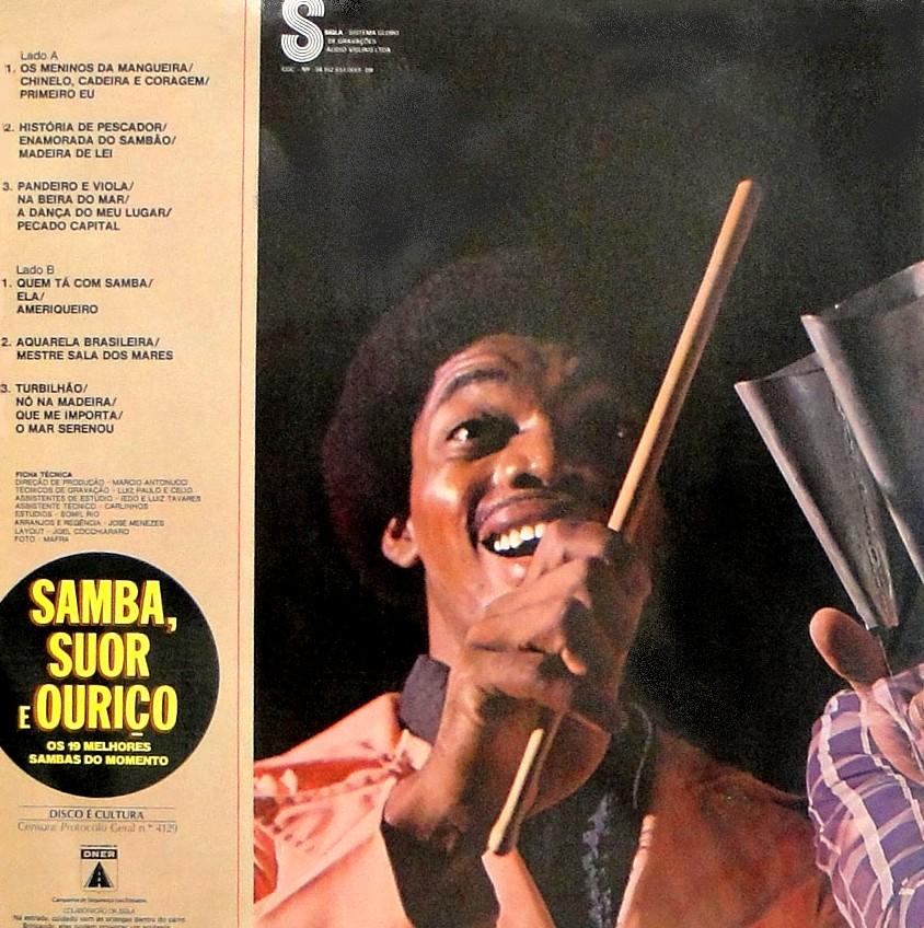 samba suor e ourio