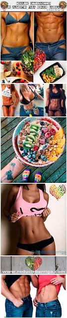 Descubre estas Combinaciones de Alimentos para Reducir Barriga y Perder Peso