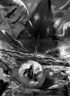 Souldancer cover sketch