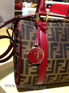 6ab992cf8bcc I Want Bags backup: Fendi Zucca Chef Bowler Bag