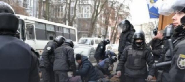 Столкновение с активистами в Киеве: в полиции рассказали, кто дал приказ спецназу