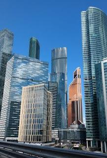 Centro de negocio internacional de Moscú o Moscow City.