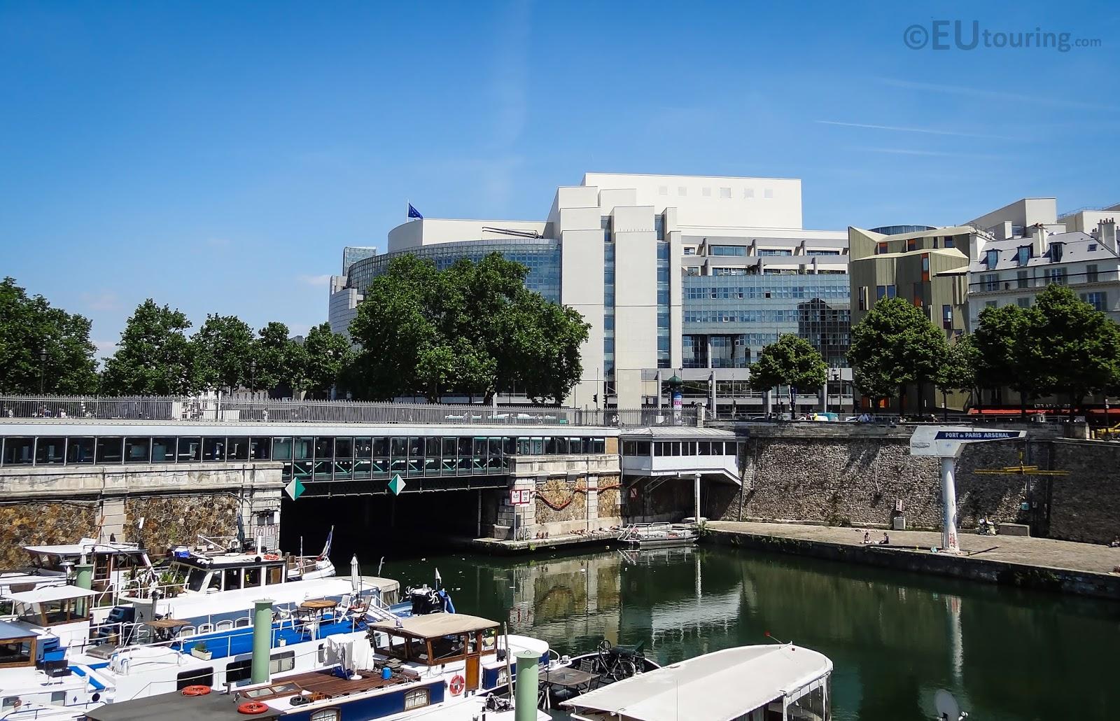 Port de l 39 arsenal and opera bastille - Port de l arsenal paris ...