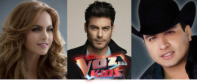 Coaches la voz kids mexico