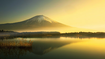 Papel de parede para pc hd Monte Fuji.