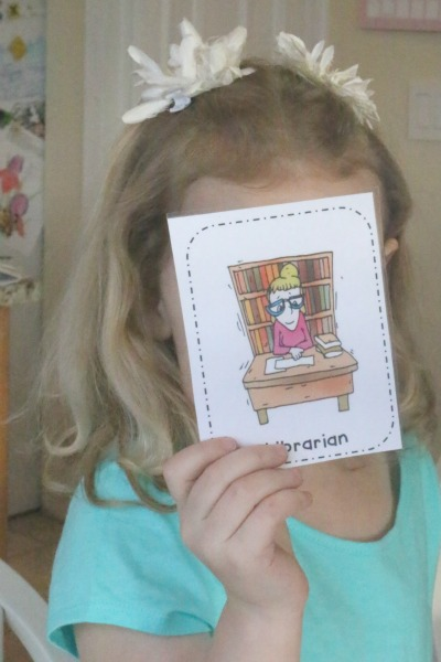 When I Grow Up Taboo Game for Preschoolers