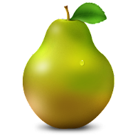 pear fruit icons