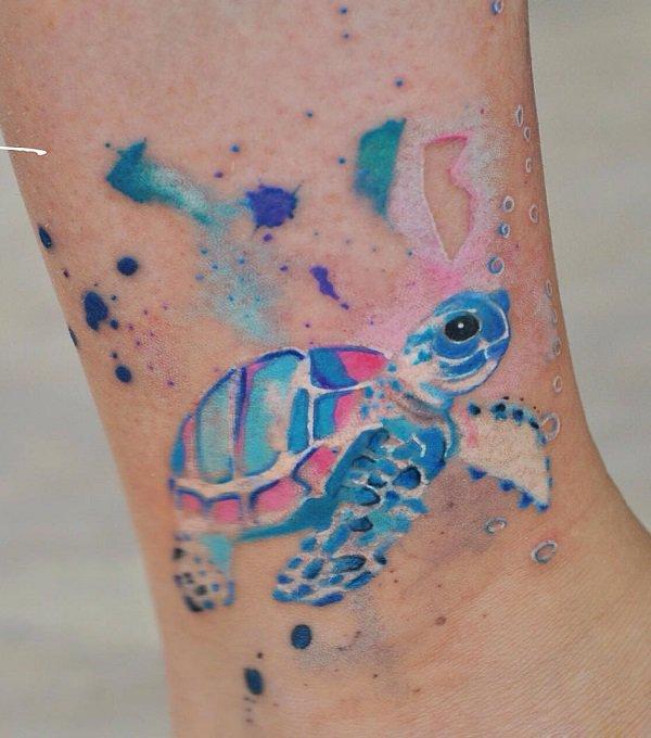Tatuagem de Tartaruga!