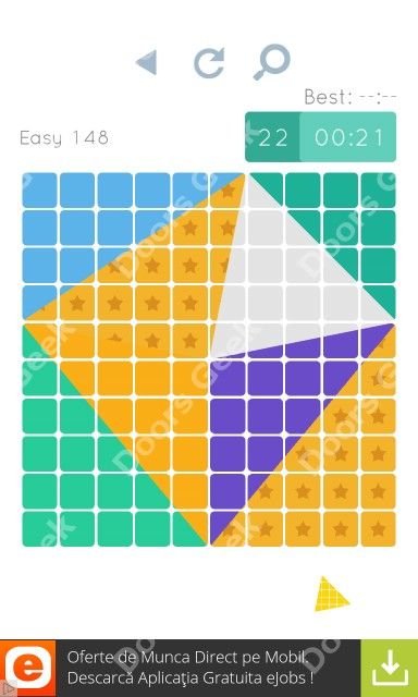 Cheats, Walkthrough for Blocks and Shapes Level 148