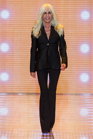 Donatella Versace Spring / Summer 2013 Ready-to-Wear Collection