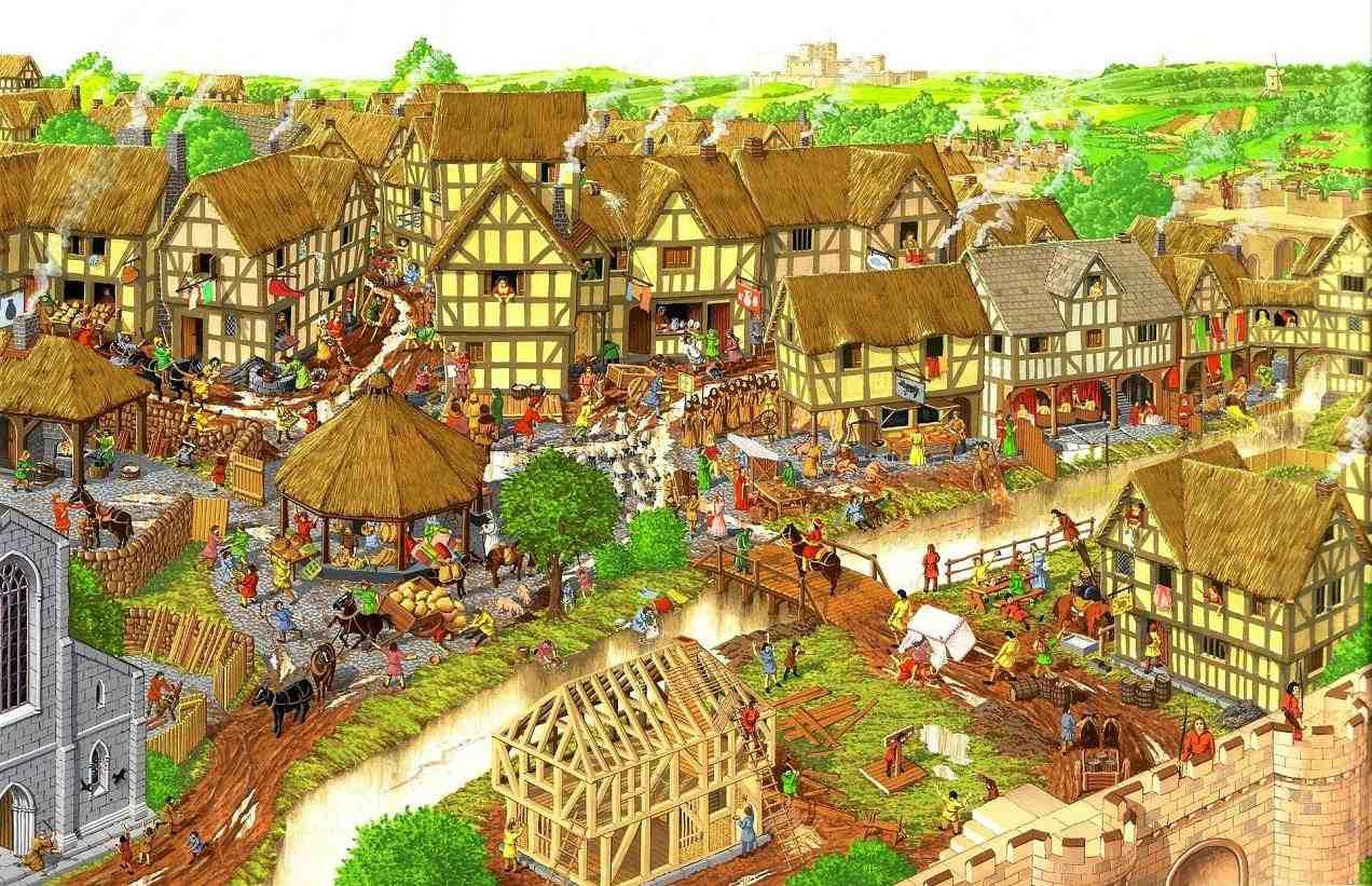 Ciencias Sociales 2 186 Eso Tema 3 La Ciudad Medieval