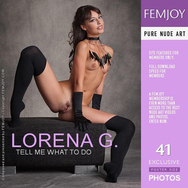 Femjoy2-03 Lorena G - Tell Me What To Do 03060