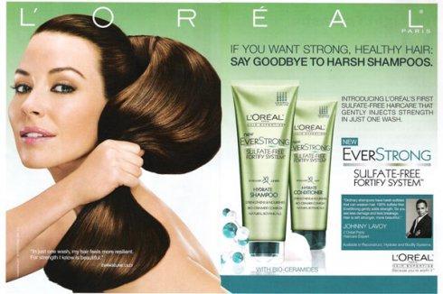 Shampooing Force et Réparation Everforce - L'Oréal
