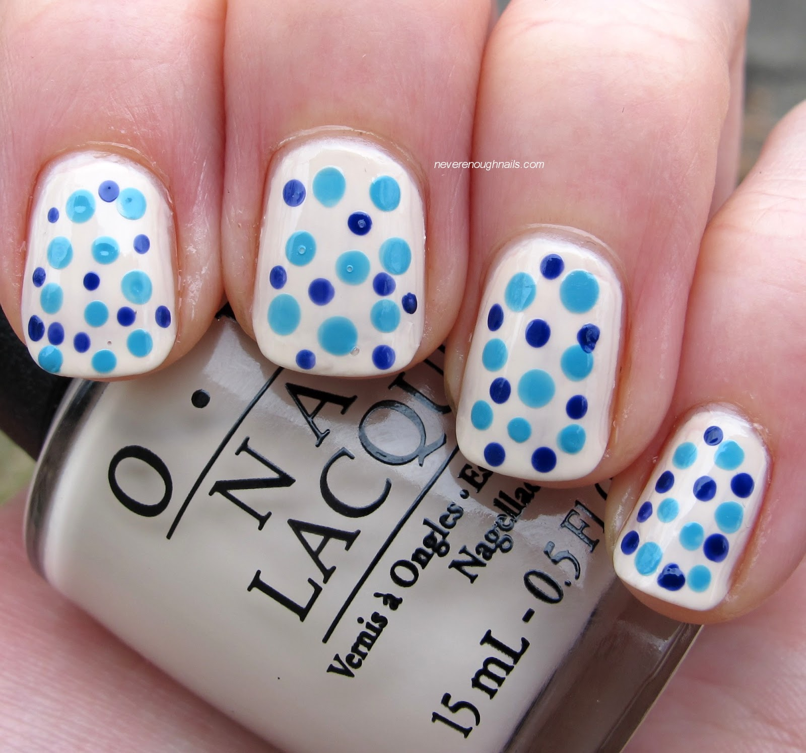 Nice Manicure With The Dotting Tools Hireability