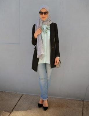 Trend hijab casual