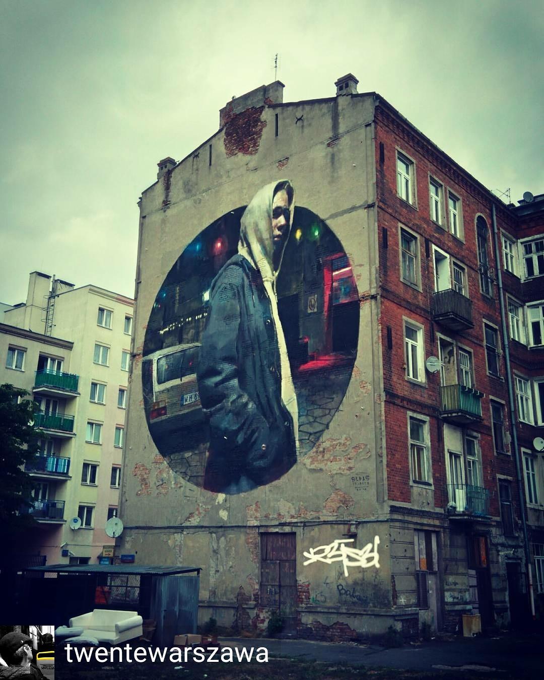 My Warsaw Dream Murale Murals