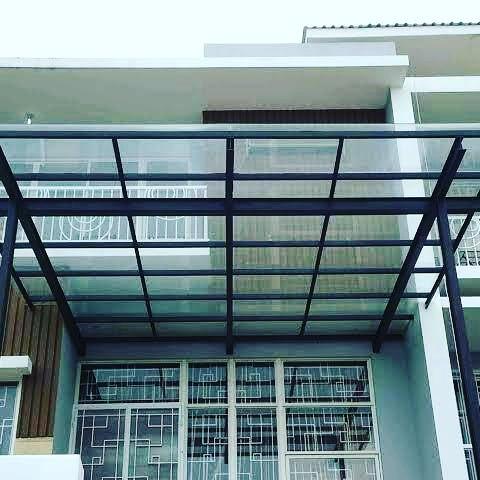 Harga Kanopi Atap Polycarbonate dan Solar plat PER METER