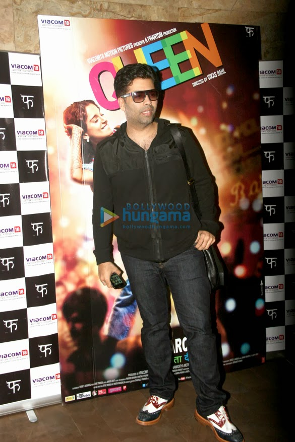 Celebrities grace Karan Johar's special screening 'Queen'