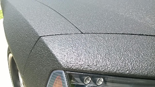 Dodge Charger with bedliner paint job